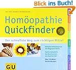 Quickfinder  Hom�opathie (GU Quickfin...