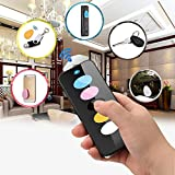 Key Finder W 5 Receivers, Kollea Intelligent Wireless RF Item Wallet Locator Remote Control W LED Light