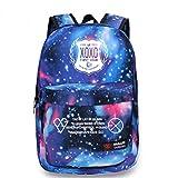 KPOP EXO-K EXO-M Backpacks Overdoes XOXO Wolf Schoolbag Luhan Kris Starry Sky Satchel (XOXO)