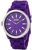 Edc By Esprit - EE100922006 - Starlet - Montre Femme - Quartz Analogique - Cadran Violet - Bracelet Silicone Violet