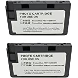 Hi Ink 2Packs T5846 for use of PictureMate Charm - PM 225, PictureMate Dash - PM 260, PictureMate Flash - PM 280, PictureMate Pal - PM 200, PictureMate Show - PM 300,PictureMate Snap - PM 240, PictureMate Zoom - PM 290