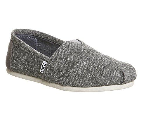 Toms Women's Classic Grey Marl Casual Shoe 8 Women US