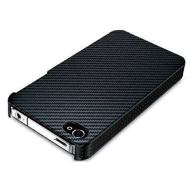 iBUFFALO iPhone 4S専用 『オシャレに彩る』 デザインケース (カーボン調) BSIP11PCD1