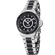 Tag Heuer Formula 1 Diamond Steel and Black Ceramic Ladies Watch WAU2210.BA0859