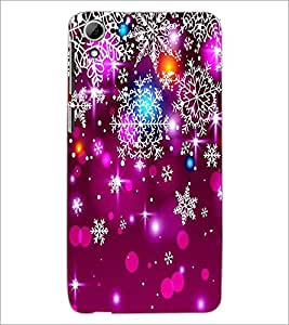 PrintDhaba Beautiful Design D-1207 Back Case Cover for HTC DESIRE 826 (Multi-Coloured)