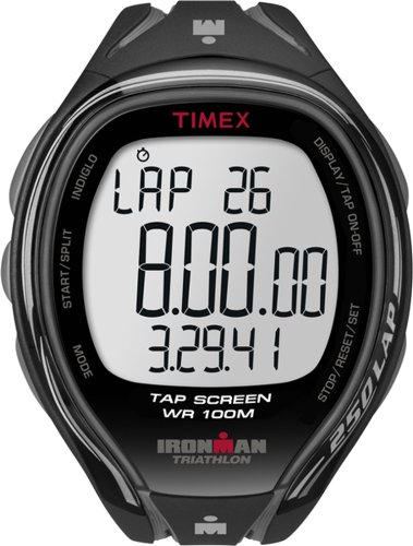 "Timex Men'S T5K588 ""Ironman Sleek"" Fitness Watch"