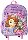 Disney Little Girls'  Sofia The First 12 Inch Mini Rolling Backpack