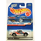 Hot Wheels - 1998 First Editions - Bad Mudder - Ford Truck - Die Cast - Racing Paint Job - #33 Of 40