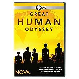 NOVA: Great Human Odyssey DVD