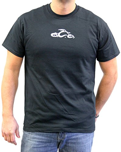 Orange County Choppers Mens Basic Sword Short Sleeve Tee, 5XL, Black