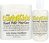 CurlyKids Mixed Haircare - Curly Creme Conditioner & Super Detangling Shampoo Bundle