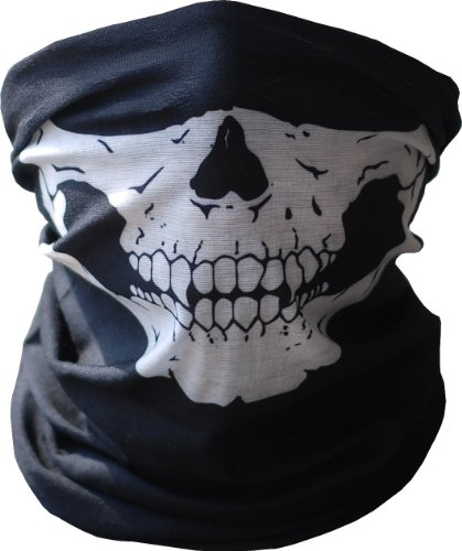 Seamless Skull Face Tube Mask