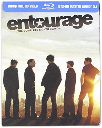Blu-ray : Entourage: The Complete Eighth Season (Digipack Packaging, Digital Theater System, AC-3, , Slipsleeve Packaging)