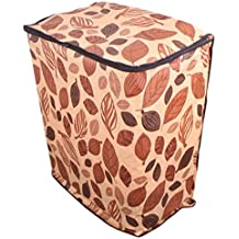 Dream Care Multicolor Leafy Coloured Waterproof & Dustproof Washing Machine Cover For All Semi Automatic BPL Machines
