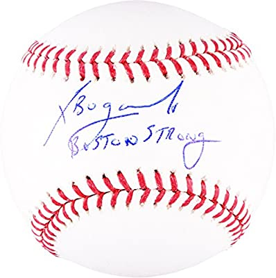 Xander Bogaerts Boston Red Sox Autographed Baseball with Boston Strong Inscription - Fanatics Authentic Certified