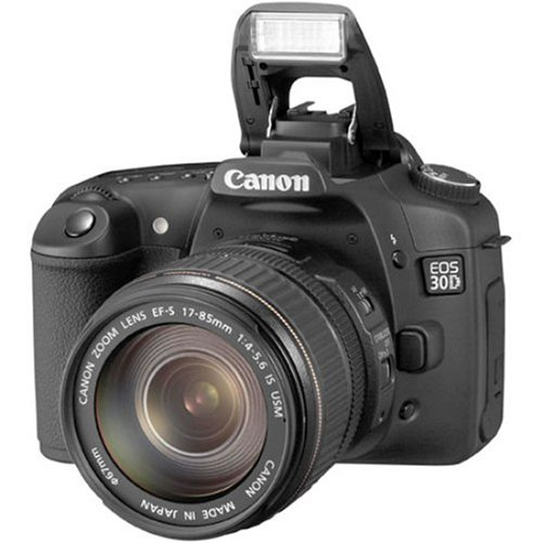 Canon EOS 30D DSLR Camera with EF-S 17-85mm f/4-5.6 IS USM Lens (OLD MODEL)