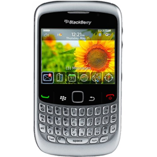 RIM Blackberry Gemini 8520 GSM Quadband Smartphone with 2MP Camera, MP3/AAC/WMA/WAV Player, Card Slot Edge Organizer IMAP/POP3/SMTP/Microsoft Exchange Bluetooth V2.0 (Silver)