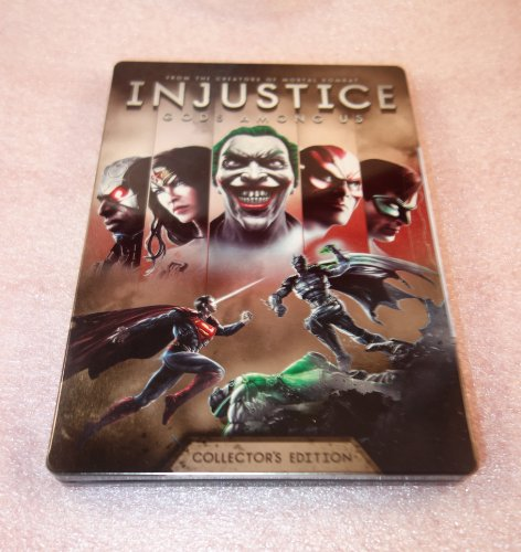Injustice : Gods Among Us Collector'S Edition Steelbook [G2 Size - Bluray] Case - No Game