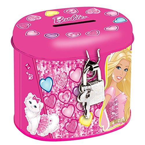 Barbie Spardose mit Schloss (261736)