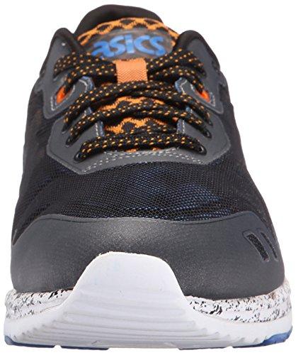 Asics Men's GEL-Lyte Evo NT Retro Black/Orange Pepper Running Shoe - 5 M US