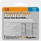 Arrow Fastener 97-030 Genuine PowerShot 9/16-Inch Brad Nails, 1,600-Pack