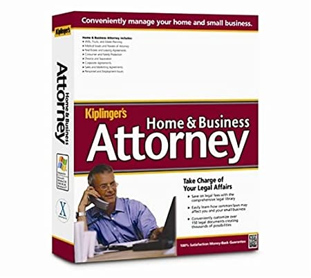 Kiplinger's Home and Business Attorney 2004 Win/Mac