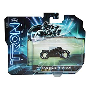 Tron 1:50 Scale Die Cast Vehicles
