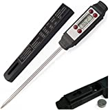 Chef's Necessities Instant Read Digital Thermometer for Meat, Candy, Dairy, BBQ and Kitchen Cooking