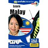 Talk Now Learn Malay: Essential Words and Phrases for Absolute Beginners (PC/Mac)by EuroTalk Limited