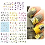 ZGY 11 Style Flower Feather 3D Nail S...