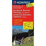 Innsbruck - Brenner - Sterzing: Fahrrad- und Mountainbikekarte. GPS-genau. 1:70000 (KOMPASS-Fahrradkarten International)