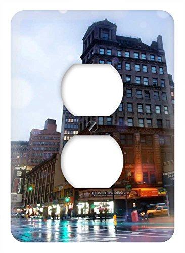 WaPlate - broadway nyc - Switch Plate Outlet Cover (Broadway Rain Cover compare prices)