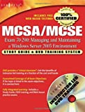 img - for MCSA/MCSE Managing and Maintaining a Windows Server 2003 Environment: Exam 70-290 Study Guide and DVD Training System book / textbook / text book