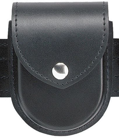 Safariland Duty Gear Chrome Snap Flap Top Double Handcuff Pouch (High Gloss Black)