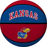 NCAA Kansas Jayhawks Crossover Full Size Basketball by Rawlings
