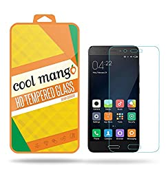 Cool Mango Tempered Glass Screen Protector & Shield for Xiaomi Mi 5 with Installation Kit and Instruction Manual - HD clarity + Best scratch and shatter protection + Highest touch screen accuracy + Oil and water repellent coating + Laser cut round edges + 9H hardness + .3 mm thickness + 2. 5 d curved