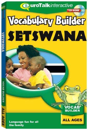 Vocabulary Builder Setswana (PC CD)