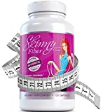 Skinny Fiber Glucomannan Diet Pills, 120 Count