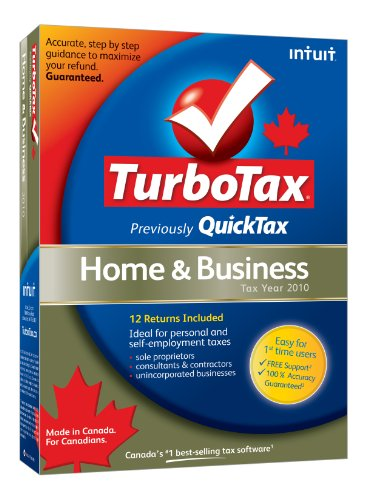 TurboTax Home and Business 2010