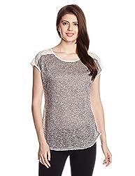 Mineral Women's Body Blouse Shirt (PU16B-581 KT_Grey_Small)