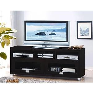 Amazon.com: Techni Mobili Durbin Cappuccino TV Stand, for TVs up to 65