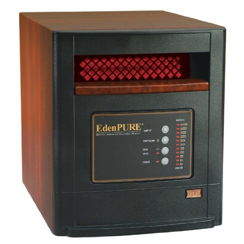 * Available at Participating Dealers EdenPURE® CopperSMART is an updated and improved model of our original EdenPURE heater, the GEN3. Packed full of copper, the CopperSMART has more features and heats quicker and more efficiently, up to square feet.
