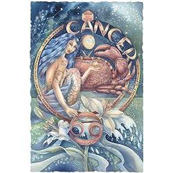 Cancer Zodiac Print By Artist Jody Bergsma