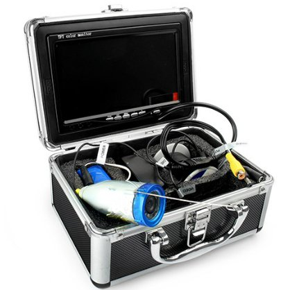 "Fish Finder 7"" Tft Lcd Video Camera System Fish Finder Hd 600Tv Lines Underwater Camera"