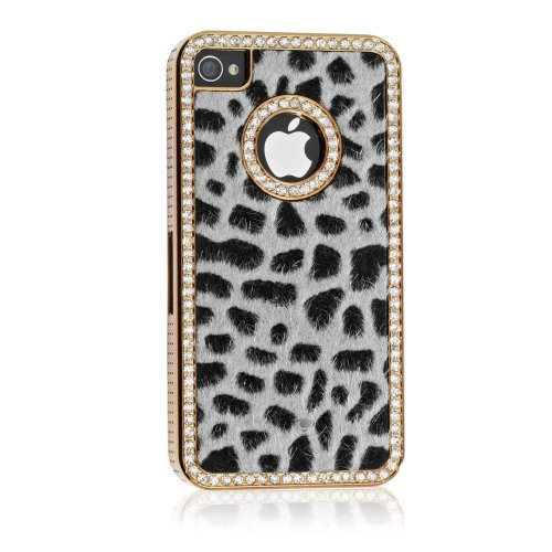 Luxury Designer Bling Crystal Leopard Cheetah