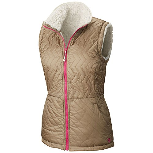 Mountain Hardwear Women's Switch Flip Vest, Khaki/Stone, Med