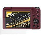 3 x atFoliX Film protection d'écran Panasonic Lumix DMC-TZ56 Film protecteur Protecteur d'écran - FX-Antireflex anti-reflet