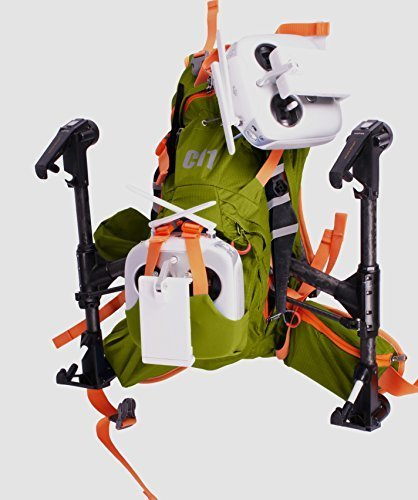 Backpack for DJI Inspire 1 by C11 Green