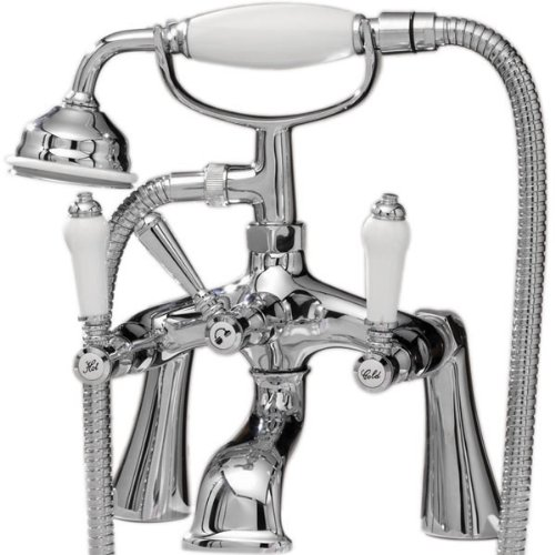 Bloomsbury Bathroom Lever Traditional Bath Shower Mixer