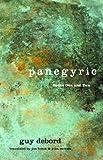 Panegyric, Volumes 1 and 2 (1859846653) by Debord, Guy